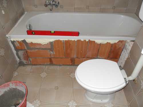 Progetto di sovrapposizione vasca da bagno idee